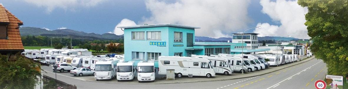 Das Camping Und Caravan Center In Der Schweiz